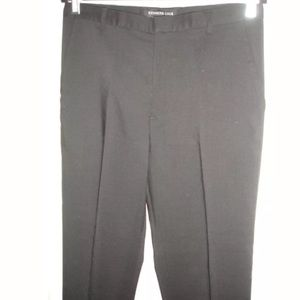 KENNETH COLE Black Wool Pants Size 32